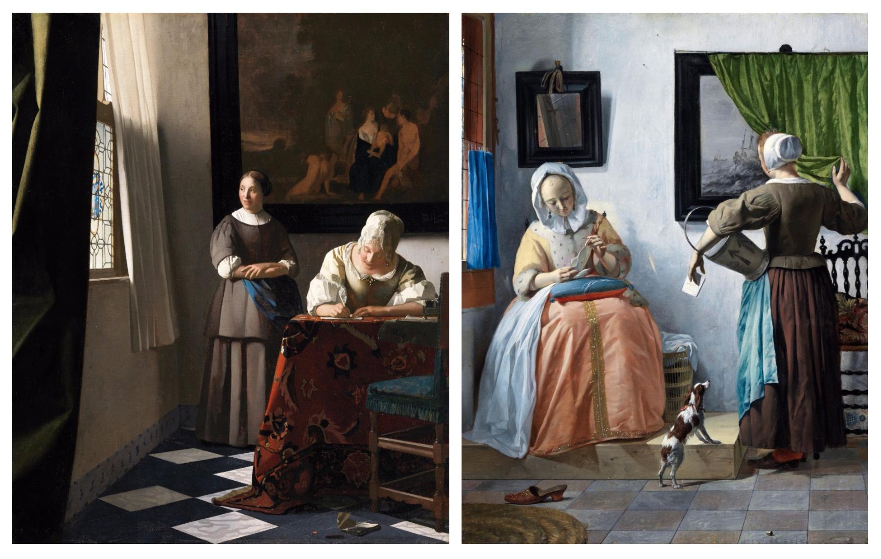 Vermeer Et Les Maîtres De La Peinture De Genre Au Musée Du Louvre