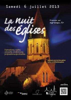 600 églises mobilisées pour la Nuit des églises 2013