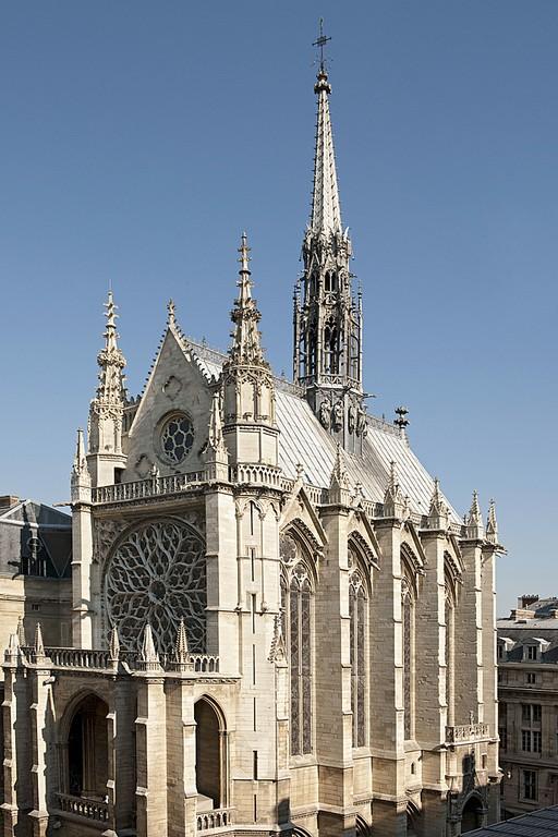 La Sainte Chapelle De Paris L 233 Clat Retrouv 233 Des Vitraux