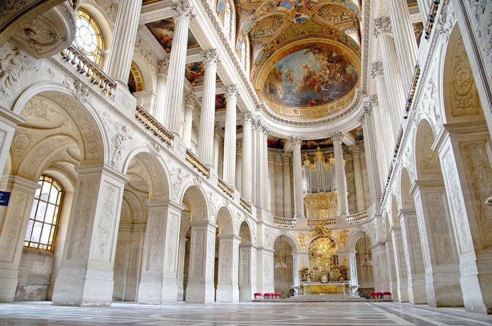 A l'occasion du tricentenaire de la mort de Louis XIV, redécouvrez la  Chapelle Royale du château de Versailles ! — Narthex