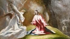 Jésus au Jardin des Oliviers, à l'écoute de Beethoven
