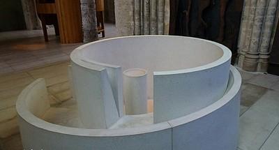 Le choeur de lumi re de l 39 glise de bourbourg par anthony for Bourbourg piscine